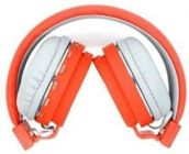 High-Quality Material Bluetooth  OV_ SH 12 Headphone For all Smart Phones (Orange)