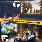 Eyelet Foldable Projector Screen 4:3 Aspect Ratio 10 Ft (W) x 8 Ft (H) - 150 Inch Design 111 Projector Screen