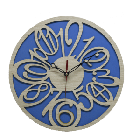 Antique Wooden Decorative Wall Hanging Clock ICW 018