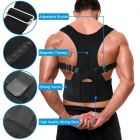 Premium Magnetic Back Brace Posture Corrector Therapy Shoulder Belt for Lower and Upper Back Pain Relief Man & Woman