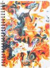 Toss Designer A5 Notebook Ruled 128 Pages (Multicolor) (Pack Of 1)