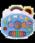 MohitEnterprises | MohitEnterprises | Toddler Toy Rainbow Piano With Lights | Blue