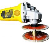 4-inch Double Nut Attachment Angle Grinder for Diamond Marble Blades (B07W6VQ5W6) (Pack of 1)
