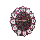 Antique Wooden Decorative Wall Hanging Clock ICW 026
