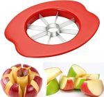 MECHDEL Stainless Steel Premium Apple Cutter, (Red) (Pack of 1)