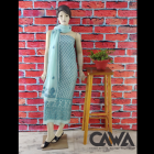 WACA Stylish & Modish Gorgette Suit Piece With Chikankari Embroidery with it comes a Lavishing Dupatta for Women's (Pack: Pack of 1)   (Color: Arctic Blue)