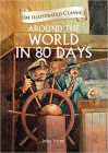 Around the World in 80 Days: Om Illustrated Classics