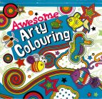 Awesome Arty Colouring Book