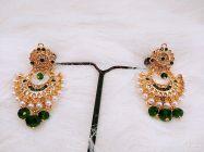 ManshiCreation Trendy Rajputi Earrings for Women & Girls