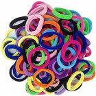 CATALYST Cotton Hair Bands For Women & Girls (Multi-Color) (Pack of 48)