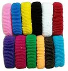 CATALYST Elastic Cotton Hair Bands For Women & Girls (Multi-Color) (Pack of 24)