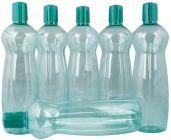 Apro Pacific 1000 ML Pet Bottles 6 Pcs Set (Multi-Color) (Pack of 6)