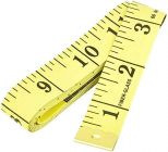 Apro Tailor Inchi Tape Measure For Body Measurement Sewing Dressmaking Multi-Color (60 Inches) (Pack of 1)