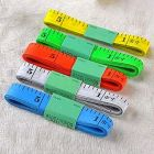 Apro Sewing Measuring Ruler Tape 60 Inches For Measuring Cloth (Multi-Color) (Pack of 5)