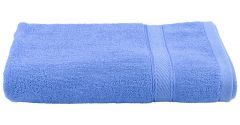 Apro 100% Natural Cotton Bath Towel, Size: 140x70 cm (Sky Blue) ( Pack of 2)