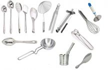 Skygold High-Quality Stainless Steel Kitchen Tool (Silver) (Pack of 16)