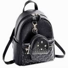 Insha Collection Trendy, Casual & Fashionable Looking Small Backpack Bag For Womens And Girls (Black   5 L)