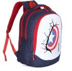 LeeRooy Large 39 L Laptop Backpack For School & Collage (BEG DC- 8BLUE 23DC)