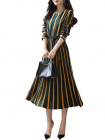 Bagrecha Creations Women's Fit and flare Knee Length Dress | Western Wear Dress For Girl's & Women's