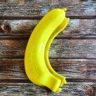 Anja Banana Case Yellow Lunch Box (Pack of 1)