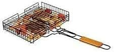 Premium Stainless Steel Made BBQ Fish Grill For Outdoor Cooking