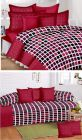 Fabric Empire Bedsheet Combo Set 1 Double Bedsheet with 2 Pillow Covers & 1 Diwan Set with 1 Single Bedsheet, 2 Bolster Covers & 5 Cushion Covers