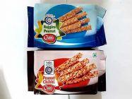 Bhavani Foods Peanut and Peanut Chikki Stick 200 GMS Each Pack (Combo Pack)