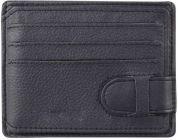 Men Blue Genuine Leather RFID Card Holder-Tishta-050