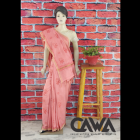 WACA Stylish & Modish Saree with Chikan Embroidery which Comes Inclusive of a Blouse Piece for Women's (Pack: Pack of 1)   (Color: Blush Pink)