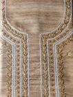 Cawa Stylish & Fashionable Bronze Unstitched Khadi Silk Noori Modish Kurta Piece With Chikankari Embroidery for Women (Color: Brown)   (Pack of 1)
