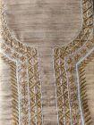 WACA Stylish & Fashionable Bronze Unstitched Khadi Silk Noori Trendy Kurta Piece With Chikankari Embroidery for Women (Pack of 1) | (Color: Brown)