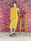 WACA Stylish & Modish Unstitched Cotton Suit Piece With Chikankari Embroidery Along with it comes a Lavishing Dupatta for Women's (Pack: Pack of 1)   (Color: Canary Yellow)