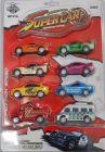 8 Pieces Set Disney Pixar Cars 3 Lightning McQueen Jackson Storm Toy Truck Cars Toy for Children
