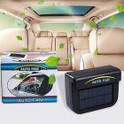 CYALERVA Auto Cool Solar Powered Ventilation Exhaust Fan For Car (Black)