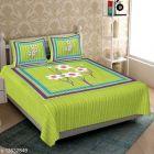 VINODTRADERS Graceful Alluring Stylish Cottion Bedsheets   Pack of 1