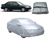 After Cars Water Resistant Car Body Cover For Honda City Old (Silver)