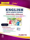 English (With Sample Papers) A Book With A Difference – Class Vii Book