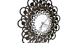 Antique wooden Decorative wall Hanging Clock ICW 0010