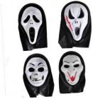 PTCMART Combo of Halloween Scary Ghost Mask For Play Role (Pack of 4)