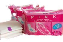 Pink International sanitary Napkin 240 MM (L) Regular 3 Combo Pack