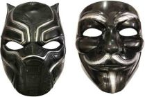 PTCMART Comic Mask For boys and girls Party Mask(Multicolor, Pack of 2)