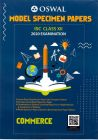 Model Specimen Papers Isc Class Xii 2020 Examination - Commerce