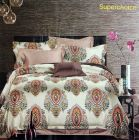 Fabric Empire Cotton Fabric Bedsheet and 2 Cushion Cover for King Size (Pack of 3)