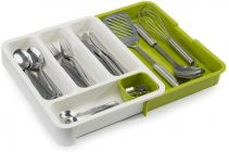 CYALERVA Multipurpose Foldable Cutlery Organizer Tray For Kitchen Drawer (Multicolor)