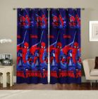 Fabric Empire Polyester Minions Printed Designer Door Curtains 7 Feet (Pack of 4)