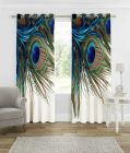 Fabric Empire Polyester Blend Printed Designer Door Curtains (Pack of 2)