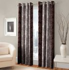 Polyester Fabric Printed Curtain Eyelet Fitting Prime for Window 210cm x 120cm (Multicolor) | (Pack of 2)