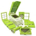 Aaradhya Bazaar Multipurpose Vegetable and Fruit Chopper 14 in 1 Cutter Grater Slicer Ideal for Kitchen Use