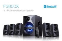 F&D 5.1 Bluetooth Speakers 15 Meter Bluthooth Rang, Full Clear Sound & Hight Bass (F3800X)