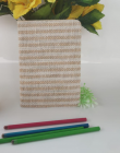 High-Quality Jute and Paper Diary Record Your Travel & Note (Beige) (Pack of 1)